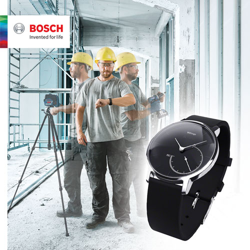 Free Watch with Bosch Connected Tools