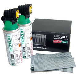 Hitachi 2nd Fix Nailer Compatible Nails & Gas