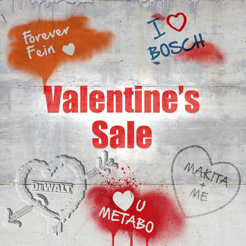 Valentine's Sale - Love Powertool World