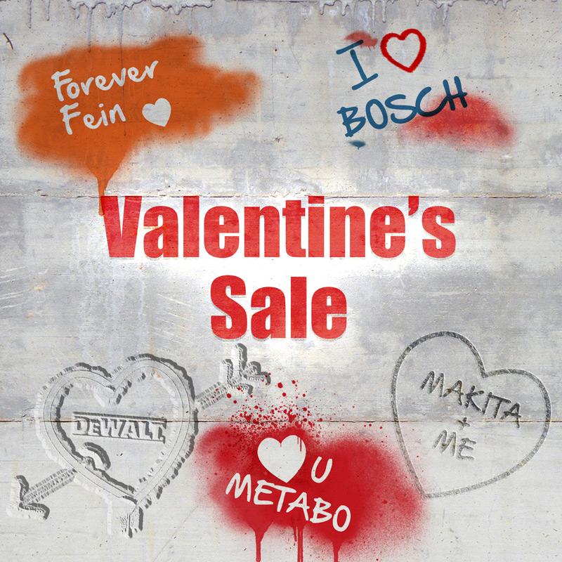 Valentine's Sale - Love Powertool World