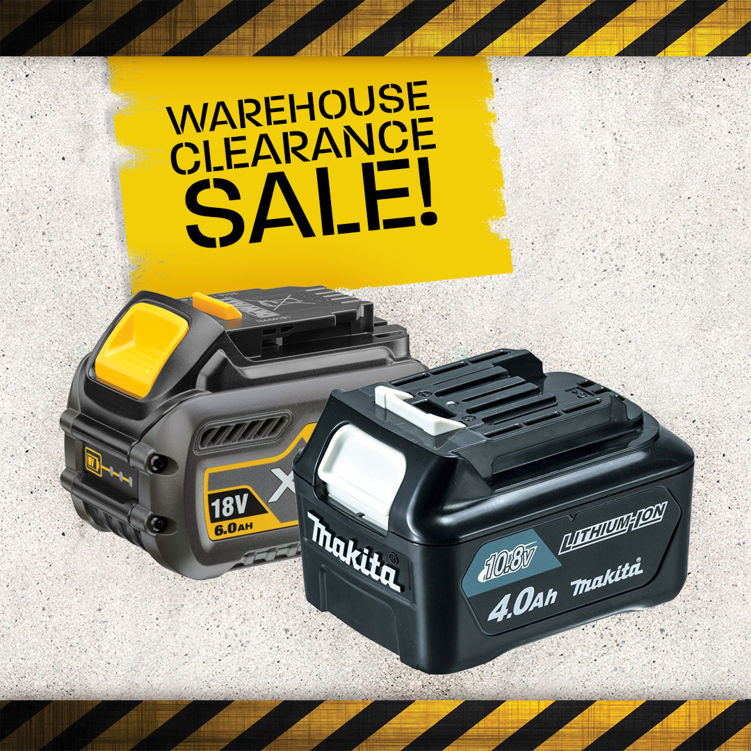 Warehouse Clearance - Batteries/Chargers
