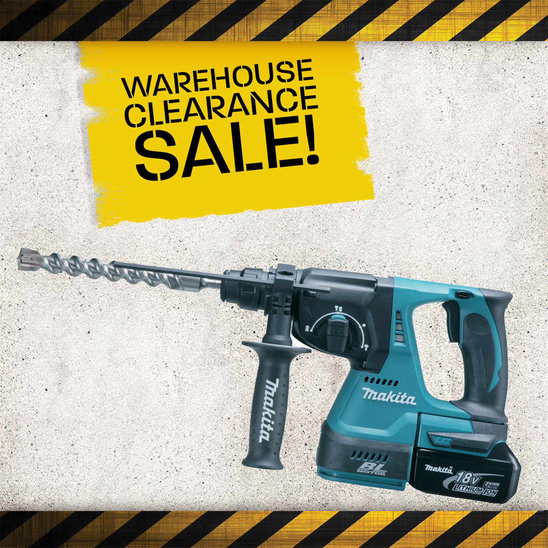 Warehouse Clearance - SDS+ Plus Hammers