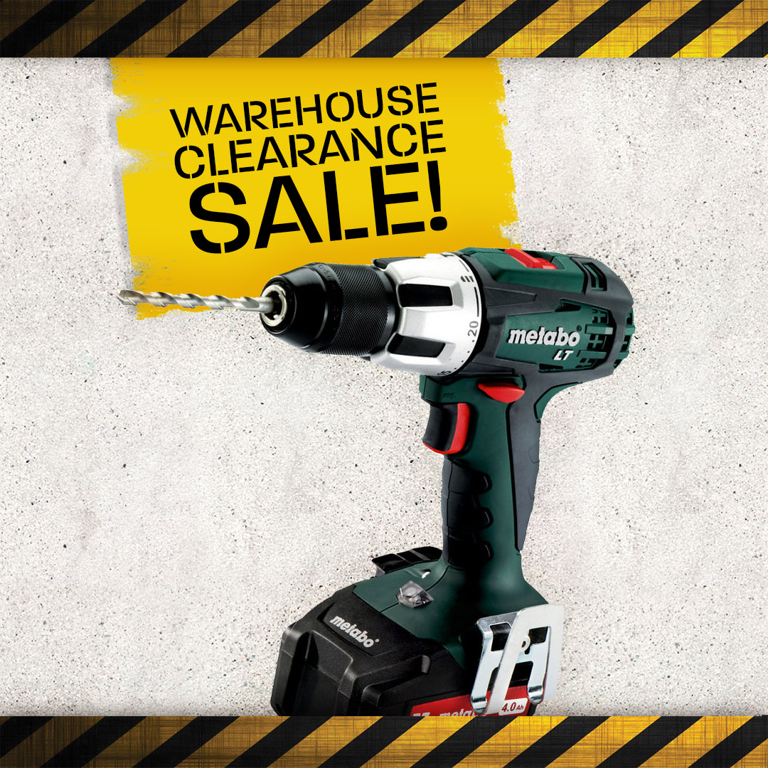Warehouse Clearance - Combi Drills