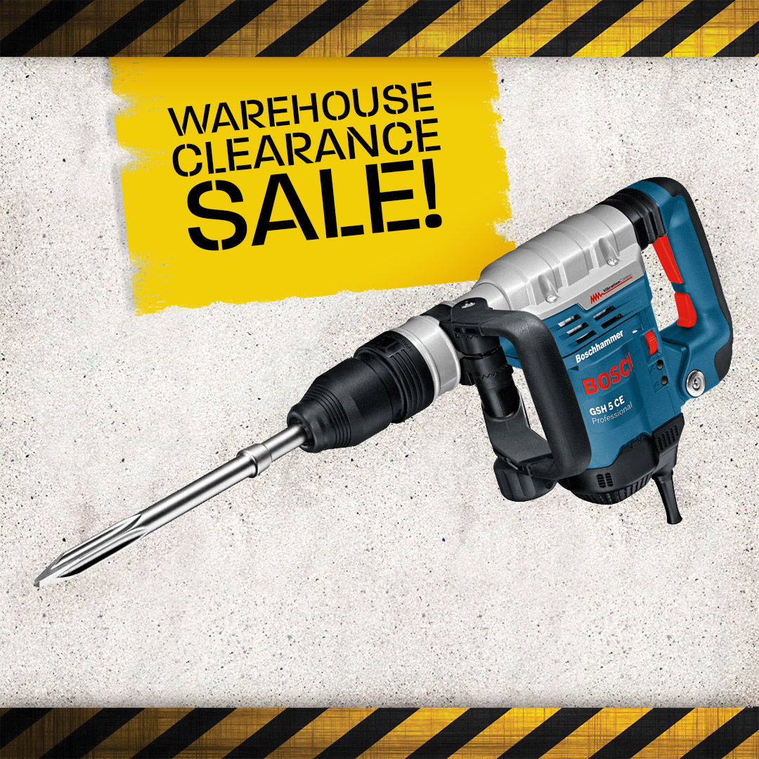 Warehouse Clearance - Hammer Breakers