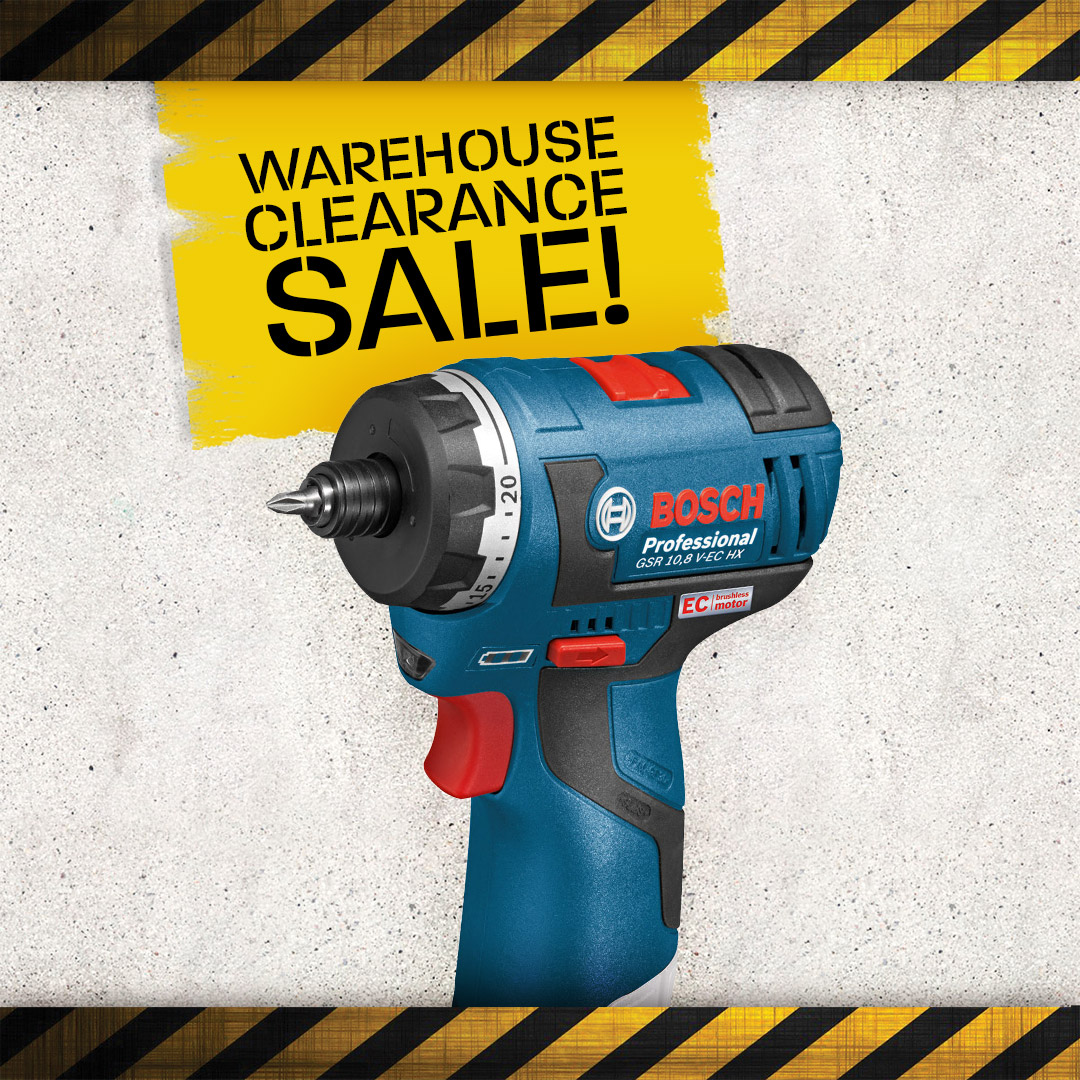 Warehouse Clearance - Drill Drivers