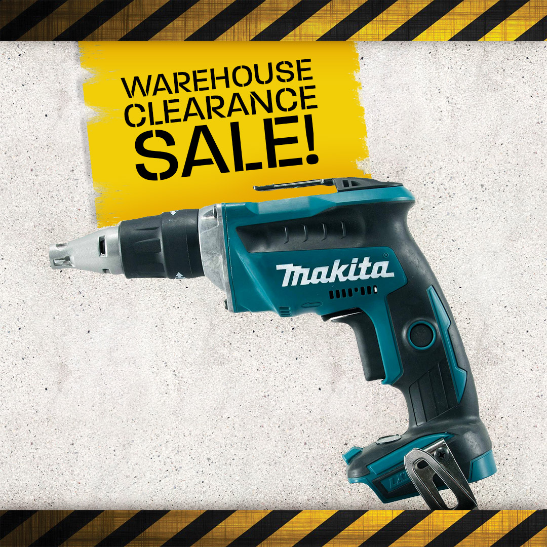 Warehouse Clearance - Drywall Screwdrivers