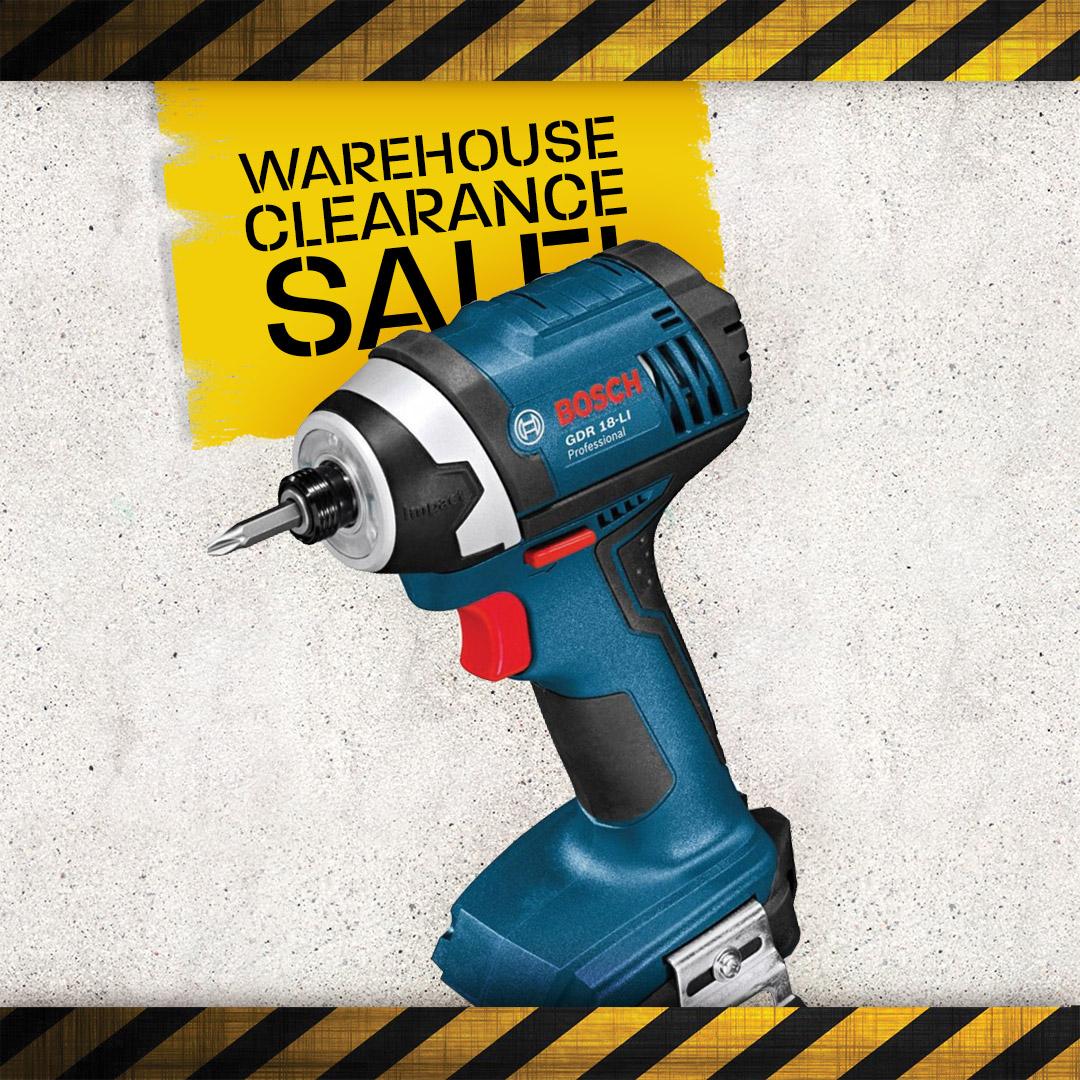 Warehouse Clearance - Impact Drivers