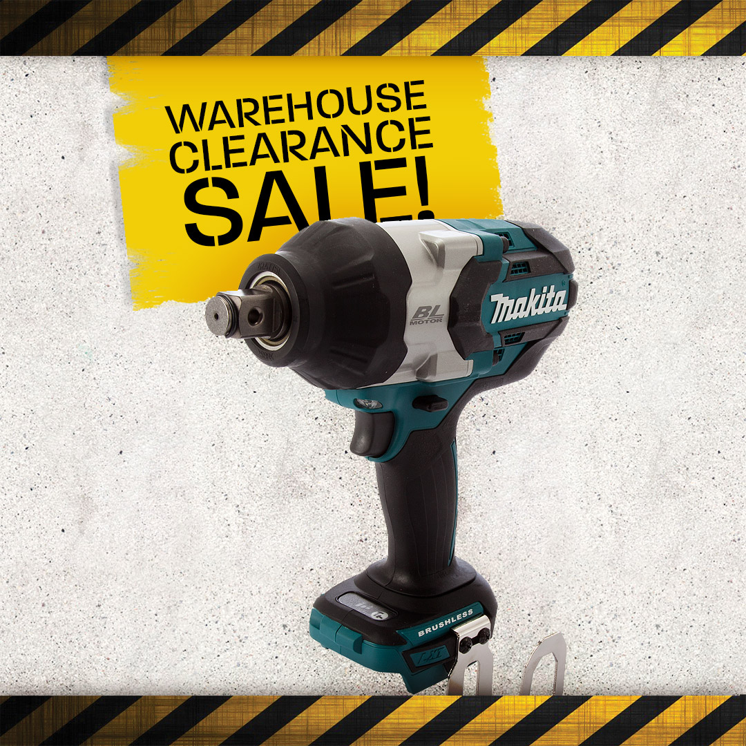 Warehouse Clearance - Impact Wrenches