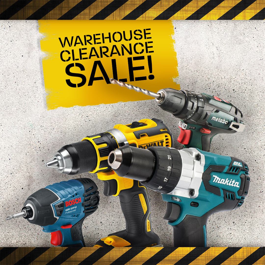 Warehouse Clearance - Drills