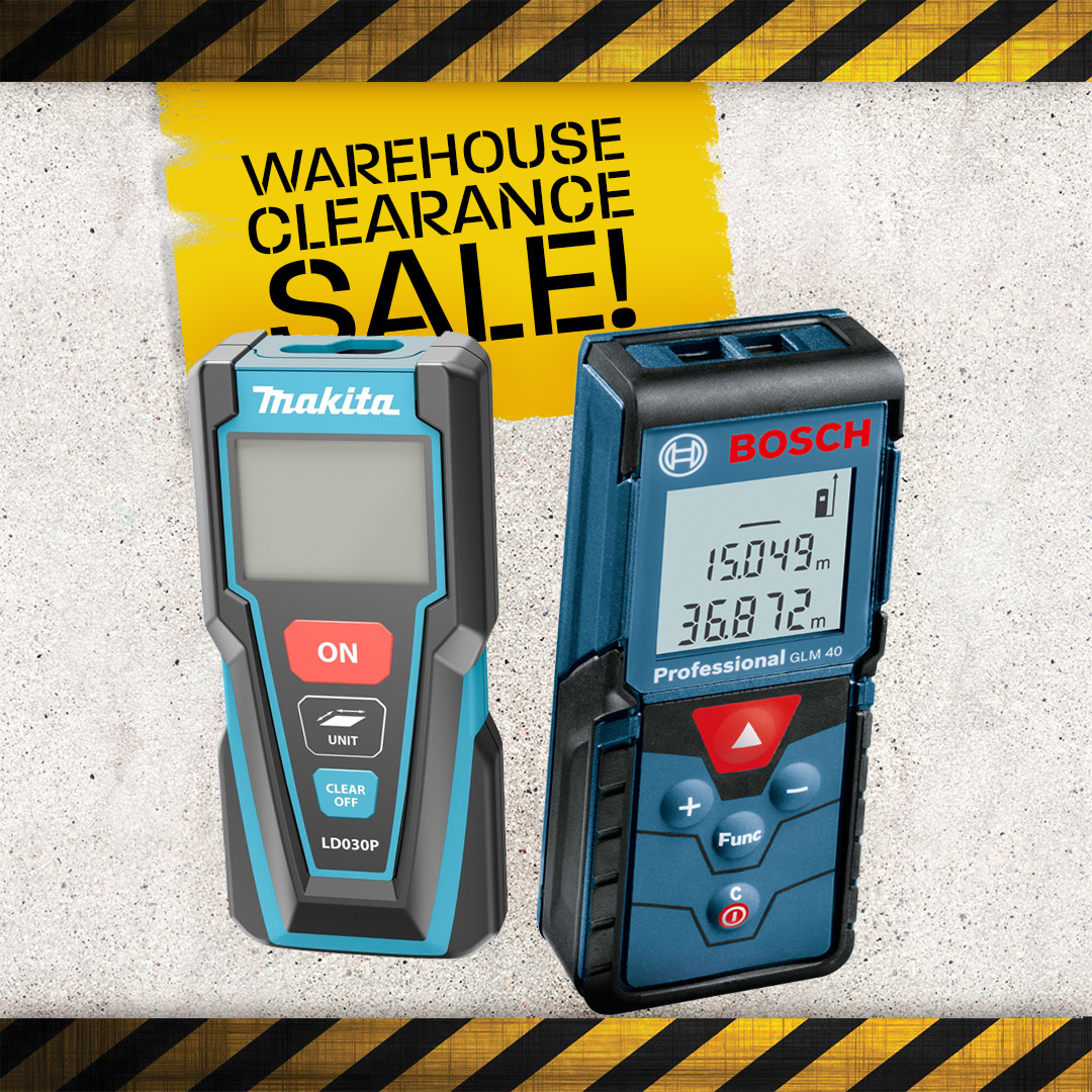 Warehouse Clearance - Measuring Tools