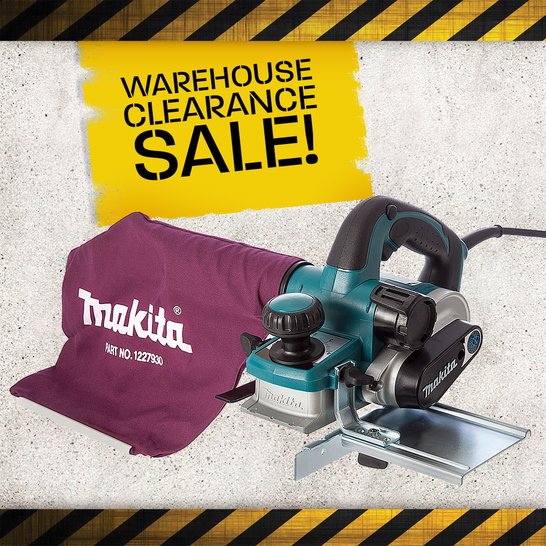 Warehouse Clearance - Planers