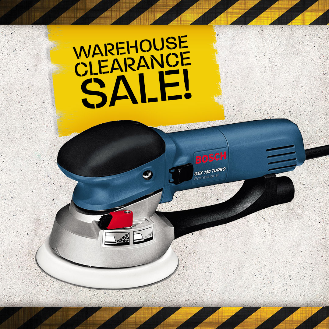 Warehouse Clearance - Sanders