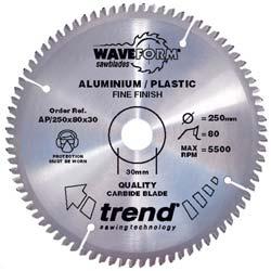 Aluminium/Plastic & Worktop Blades for Mitre Saws