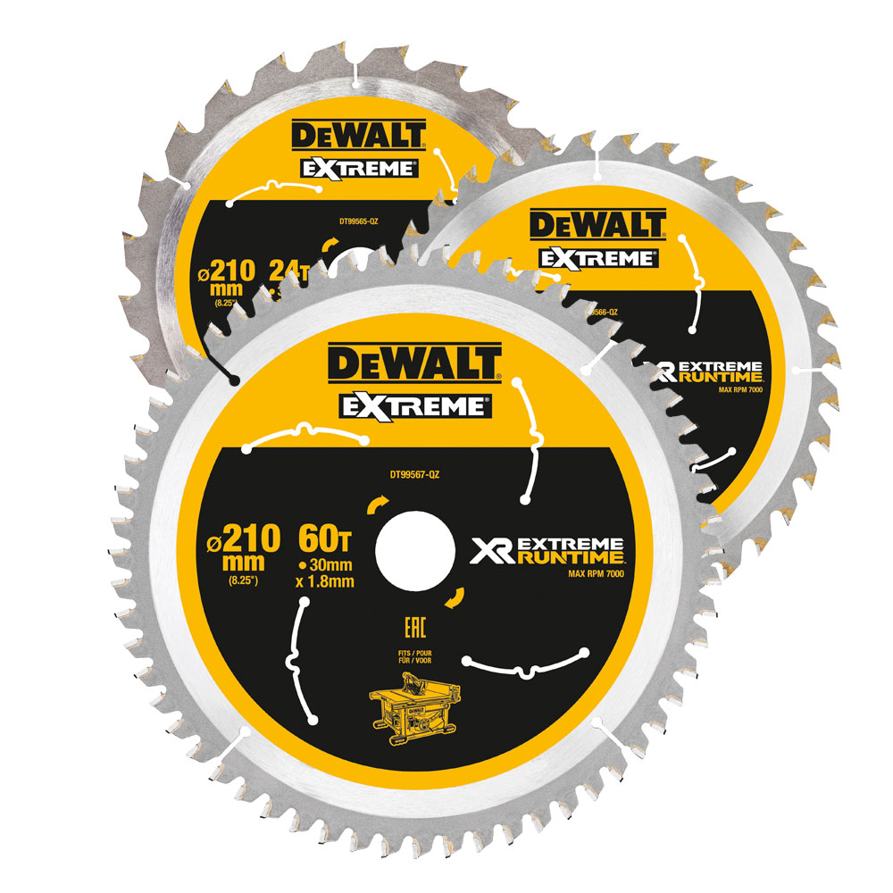 XR FLEXVOLT Circular Saw Blades