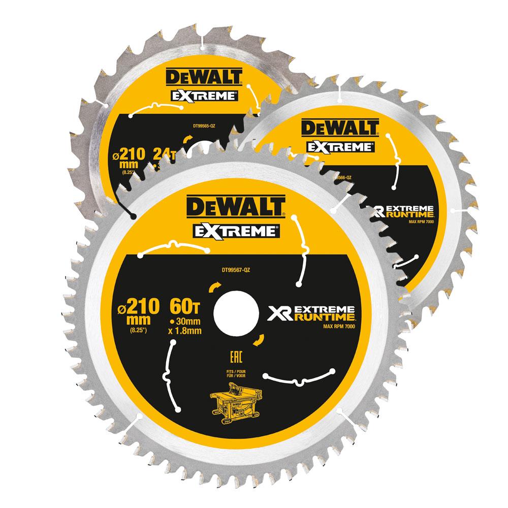 DeWalt XR FLEXVOLT Circular Saw Blades