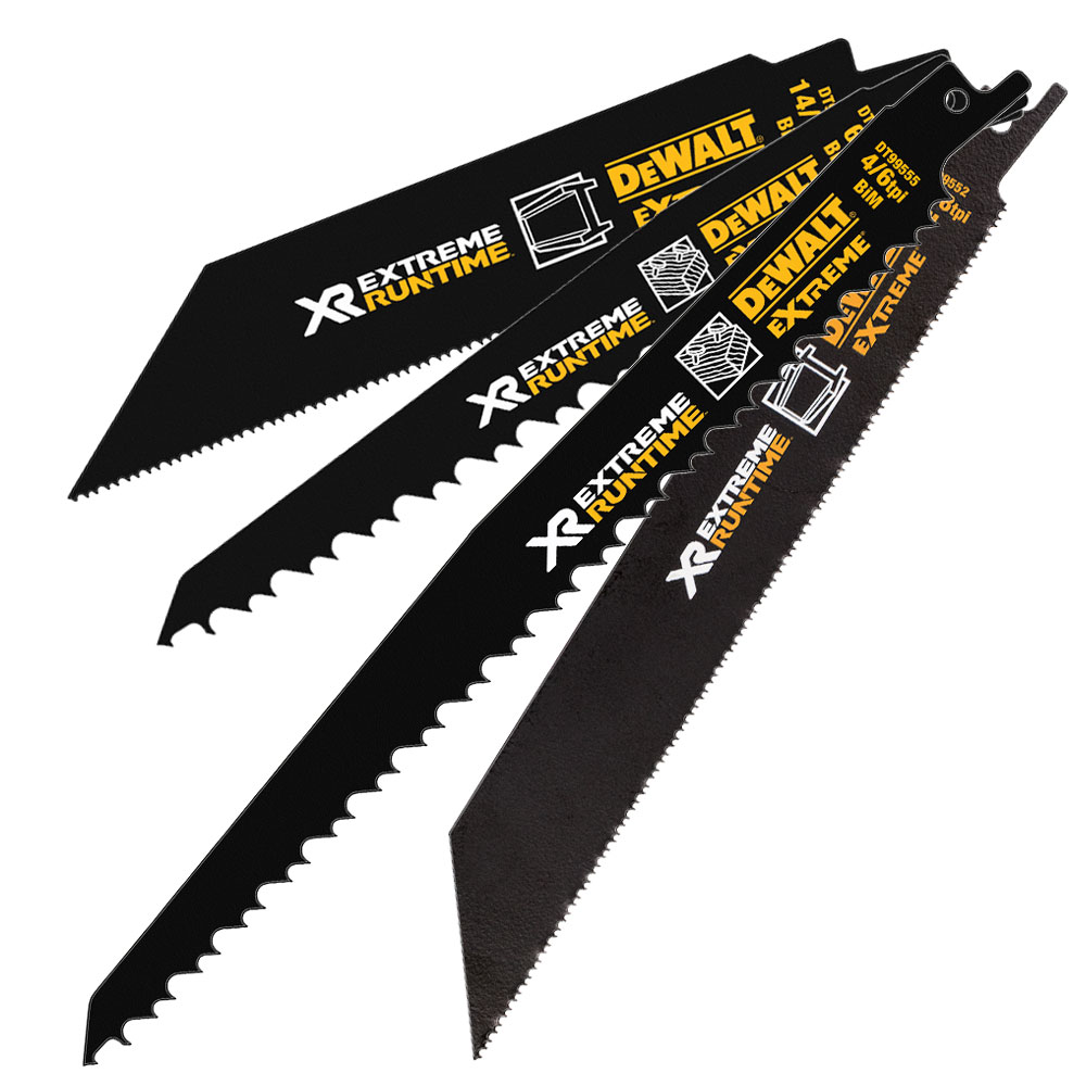 DeWalt XR FLEXVOLT Recipro Saw Blades