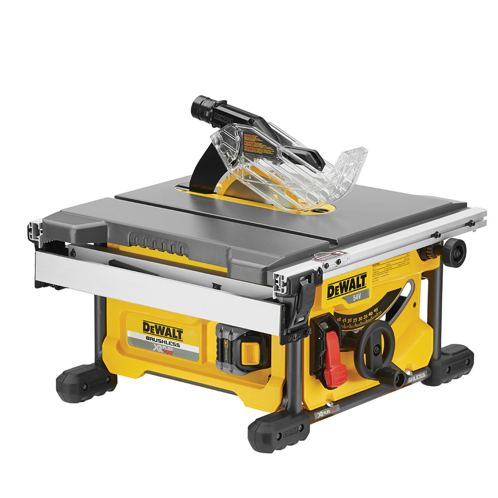 DeWalt XR FLEXVOLT 54v Table Saws