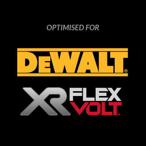 DeWalt Optimised for XR FLEXVOLT
