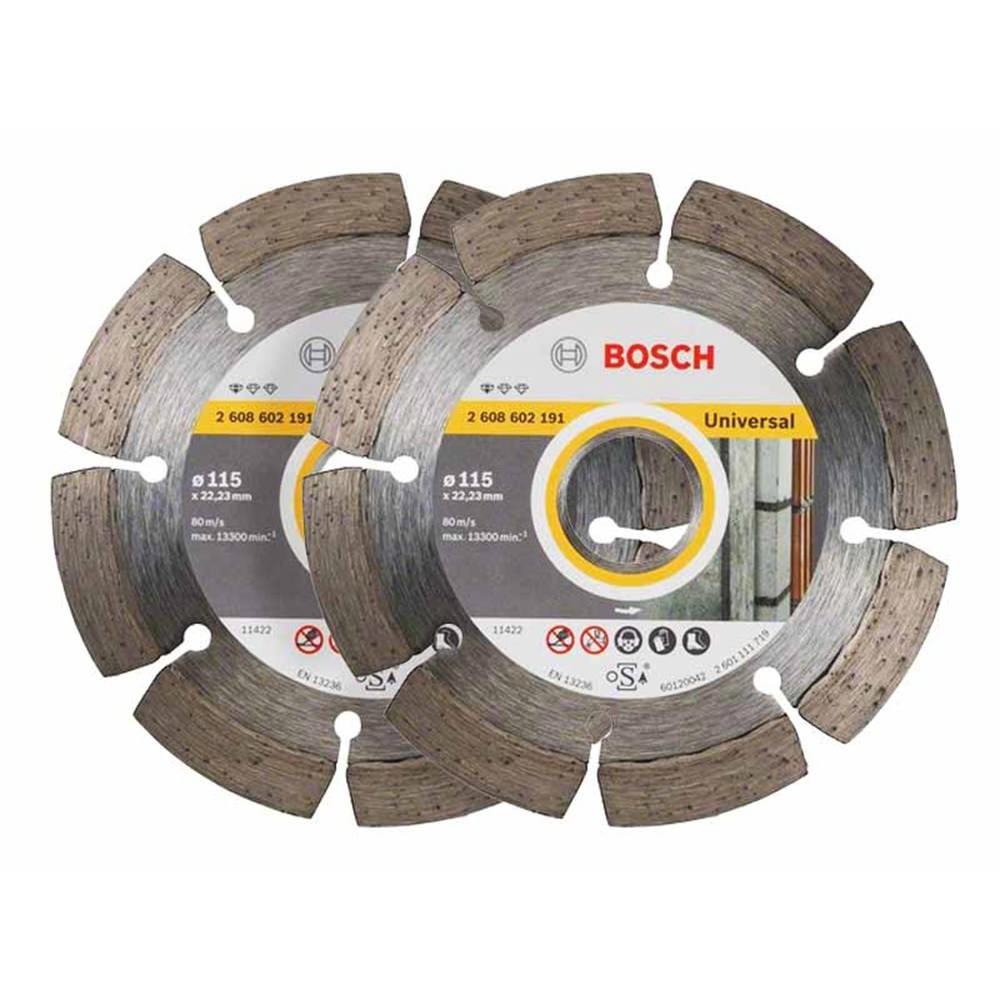 Bosch 115mm Diamond Blade Twin Pack for Universal 061599749J