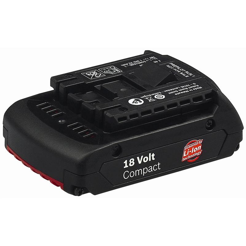 Bosch 18v Li-ion Battery 1.3Ah 2607336170