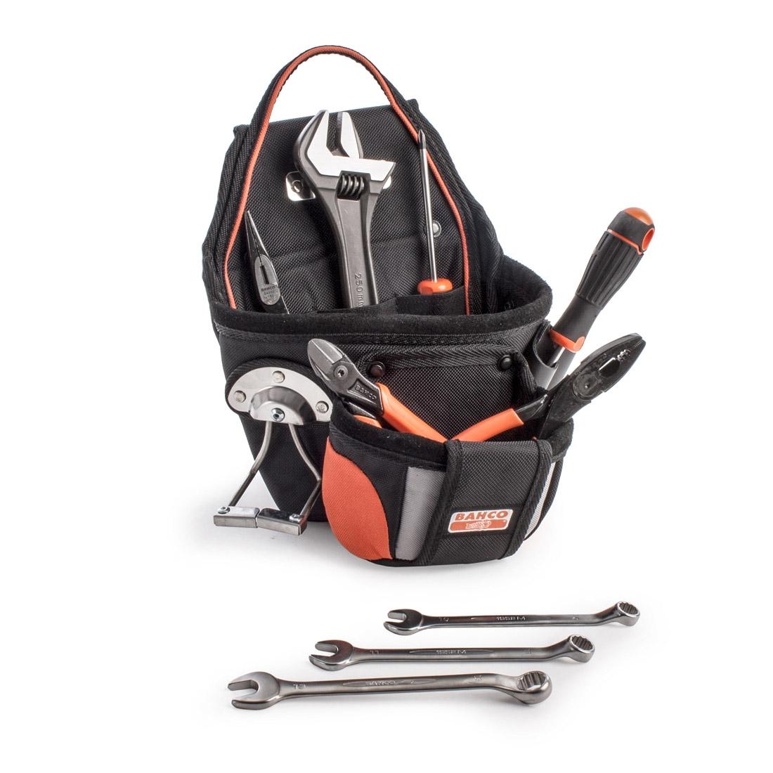 Bahco 4750-UP-1TS1 9 Pcs Maintenance Tool Kit