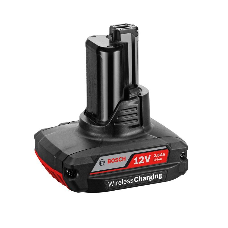 Bosch 10.8v / 12v 2.5Ah Li-Ion Wireless Charging Battery 1600A00J0E