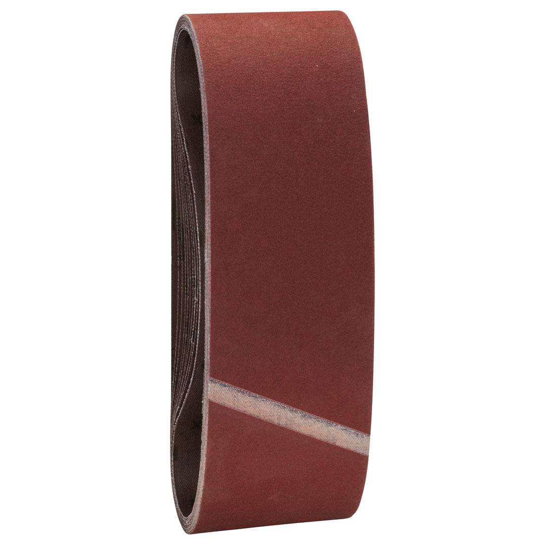 Bosch 180 Grit Sanding Belt Set 75 x 533mm 10 Pcs 2608607261