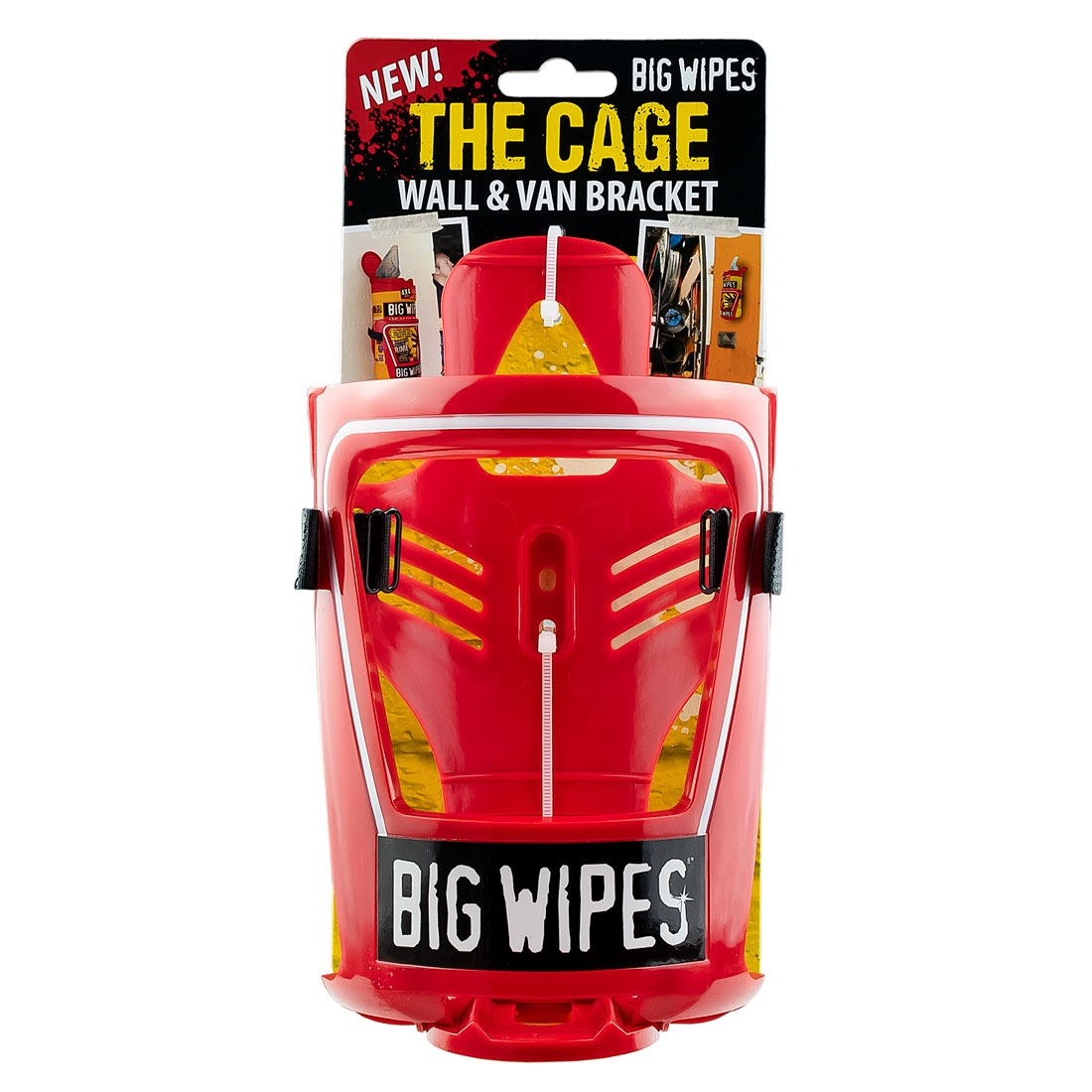 BIG WIPES Cage and Wall Bracket