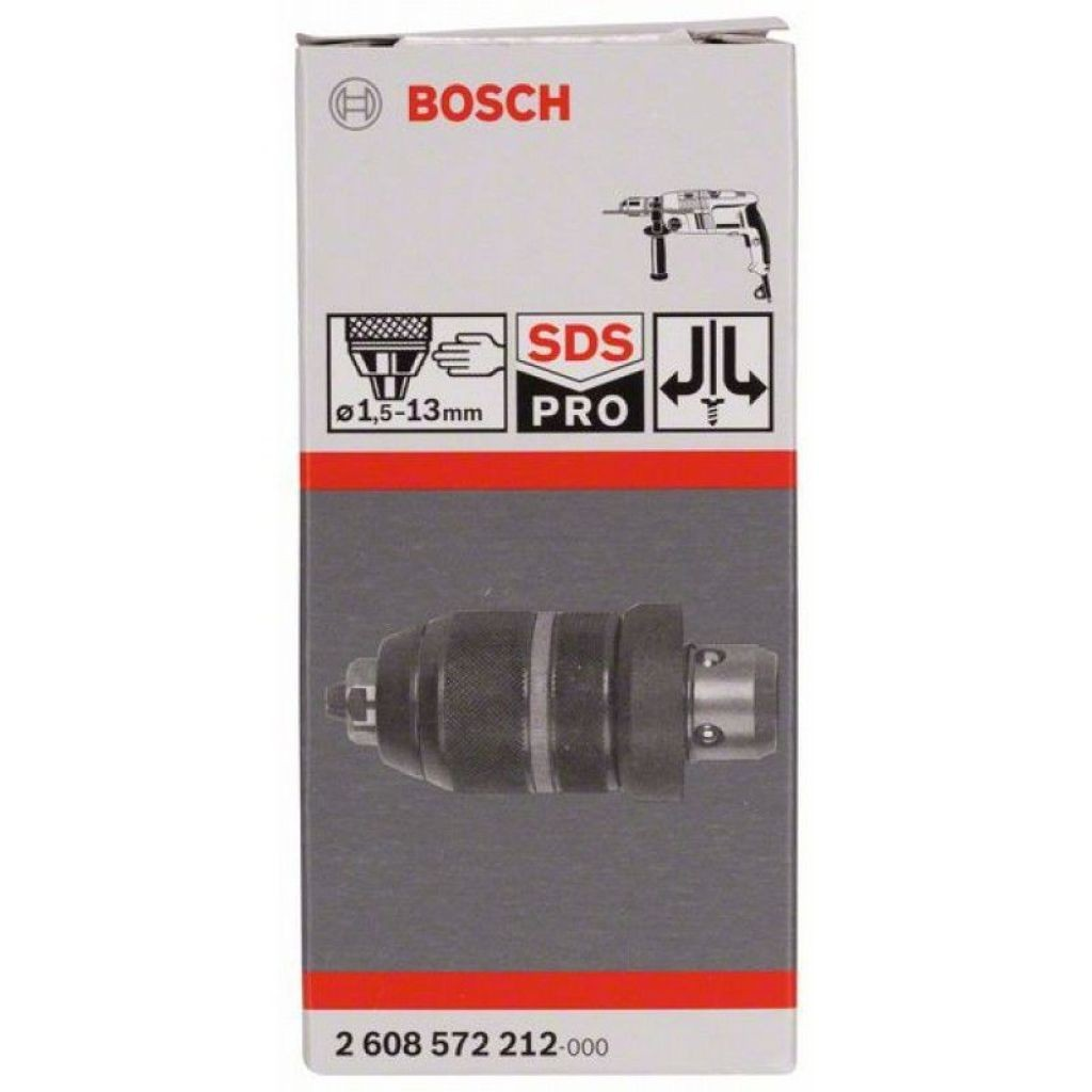 bosch 2608572212 keyless quick change chuck with adapter 1. Black Bedroom Furniture Sets. Home Design Ideas
