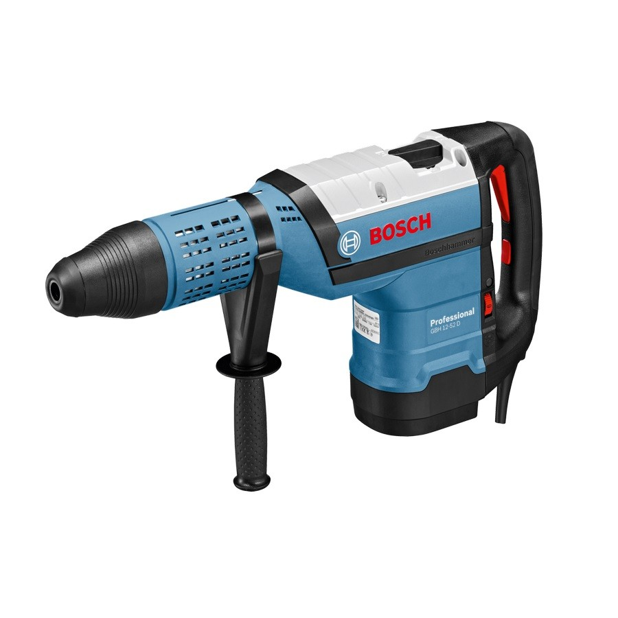 bosch gbh 12 52 d sds max rotary hammer drill in carry. Black Bedroom Furniture Sets. Home Design Ideas