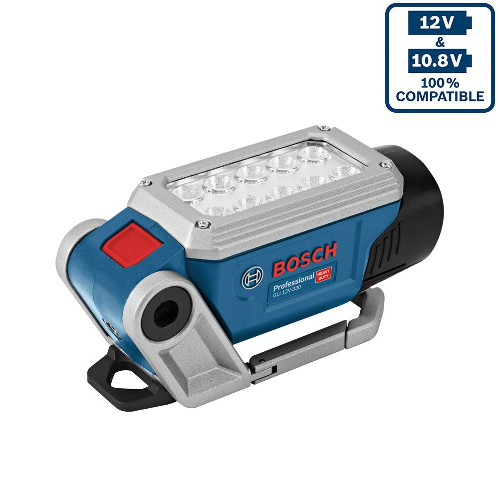 bosch gli 12v 330 professional deciled work light body only powertool world. Black Bedroom Furniture Sets. Home Design Ideas