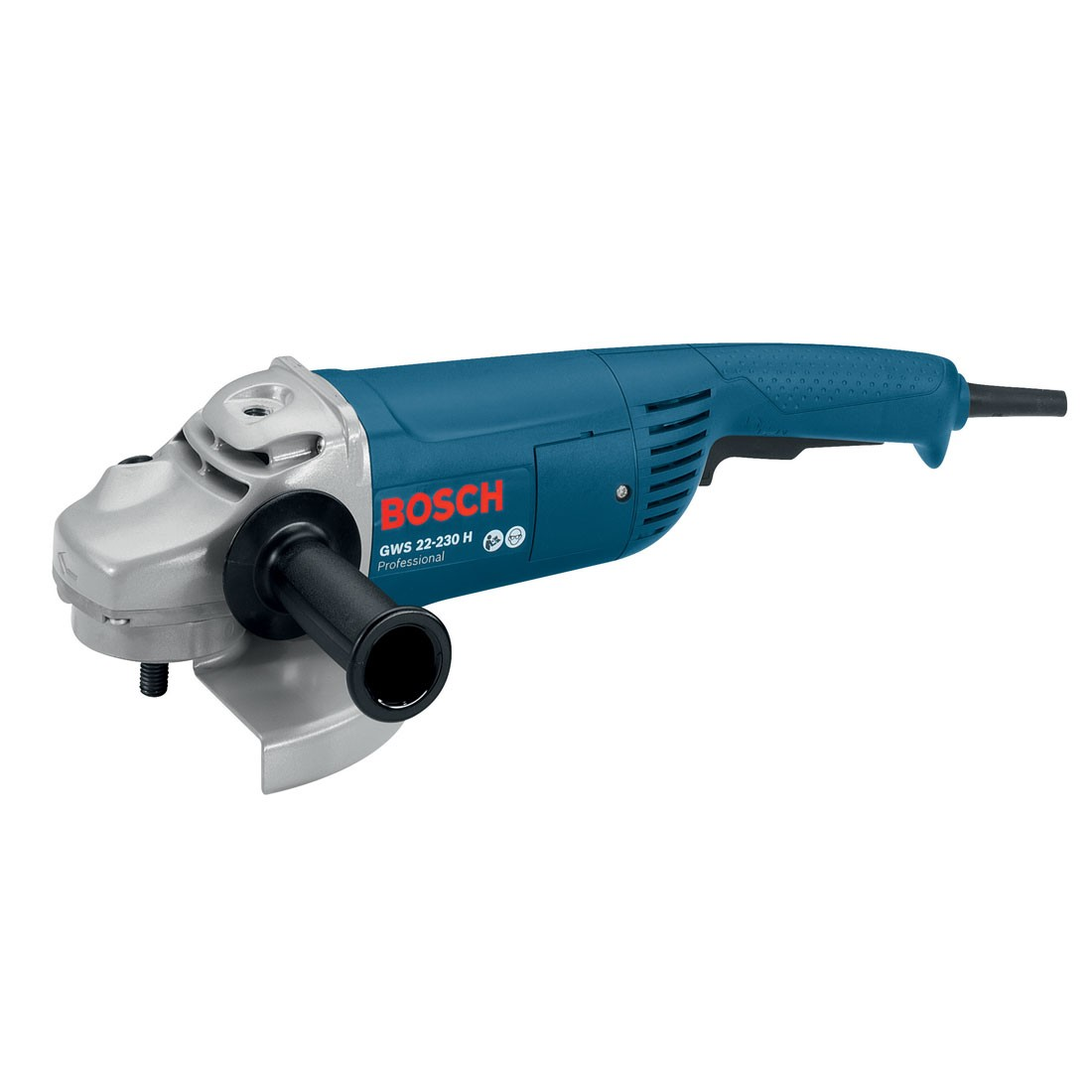 bosch gws 22 230 h professional 9 230mm angle grinder powertool world. Black Bedroom Furniture Sets. Home Design Ideas