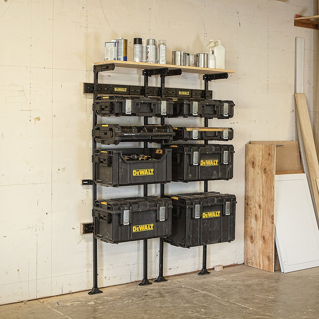 Dewalt Dwst1 75694 Toughsystem Workshop Racking System