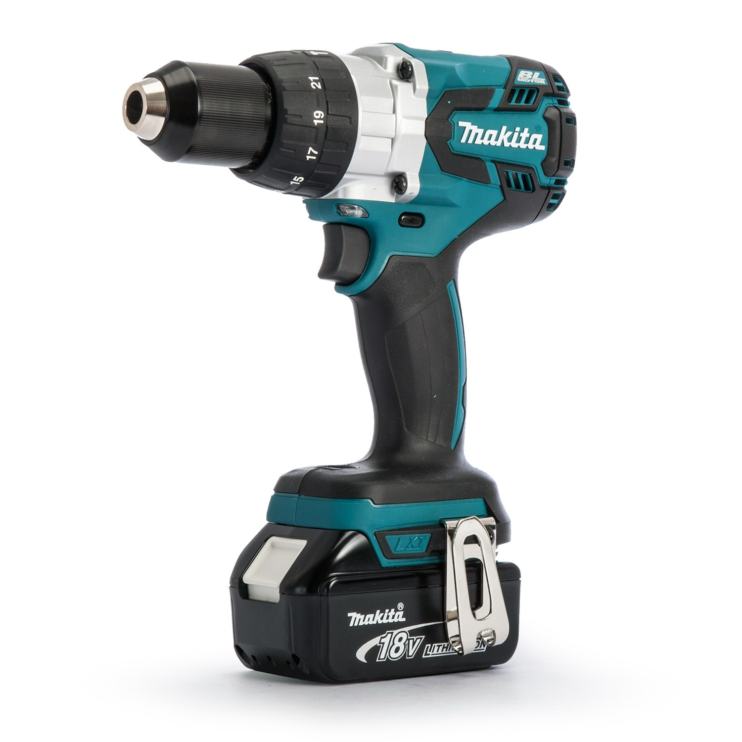 Makita Dlx2040tj 18v Brushless Dtd129 Impact Driver Dhp481 Combi Drill Twin Kit Inc 2x 5 0ah