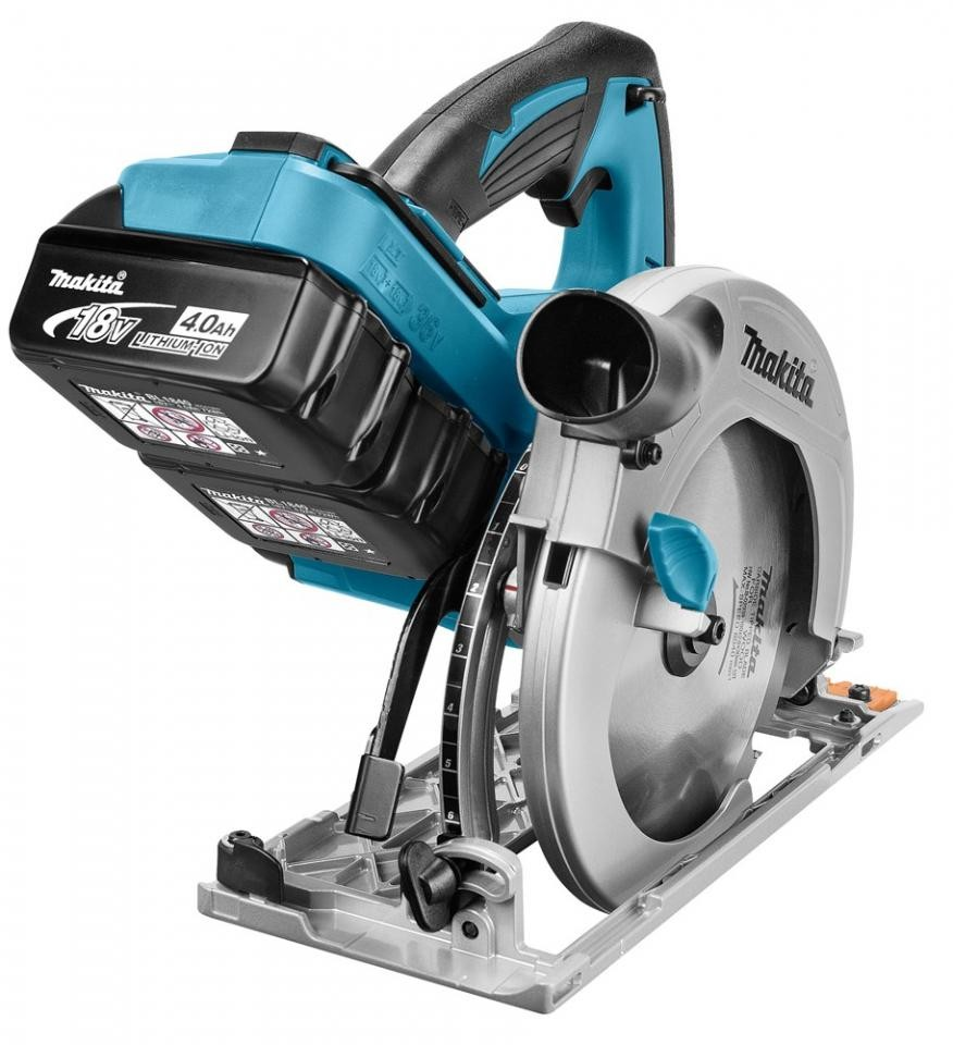 Makita Dhs710z Twin 18v Cordless Circular Saw Body Only Powertool World