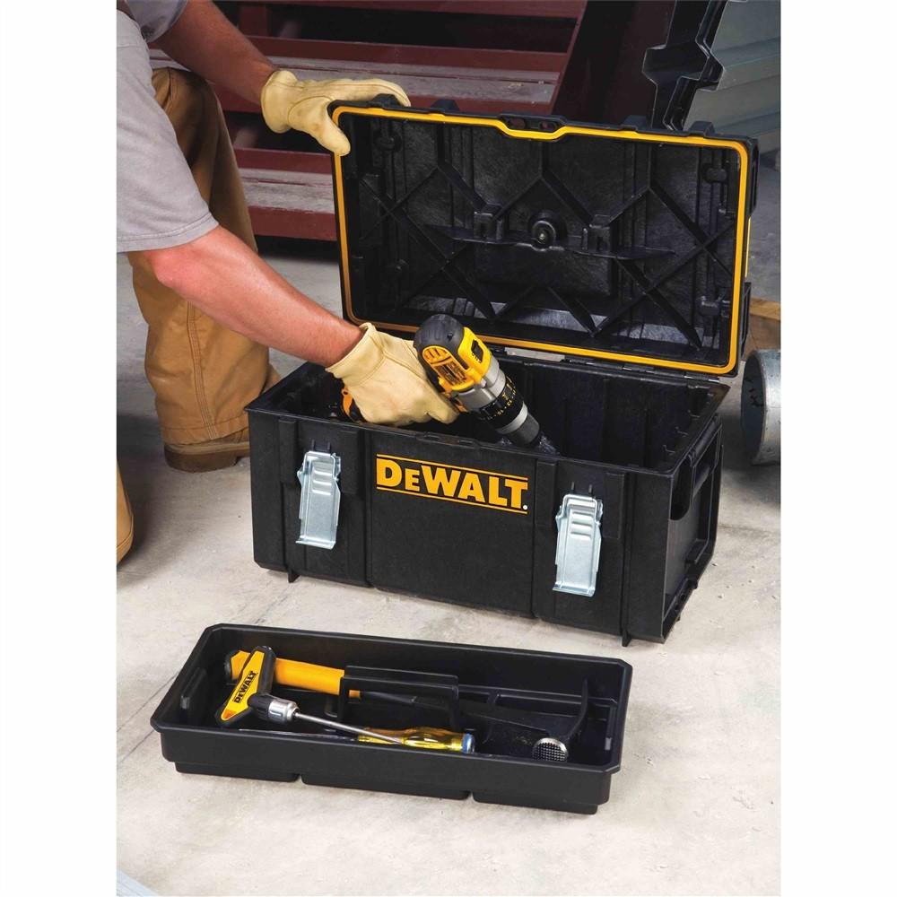Dewalt Dust Extractor >> DeWalt 1-70-322 DS300 TOUGHSYSTEM Tool Box inc Tote Tray DWST8203 | Powertool World