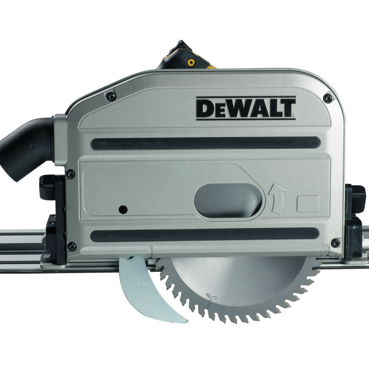 dewalt track saw parallel guide