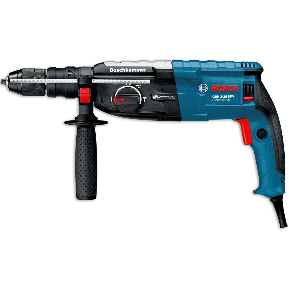 bosch gbh 2 28 dfv sds rotary hammer qcc powertool world. Black Bedroom Furniture Sets. Home Design Ideas