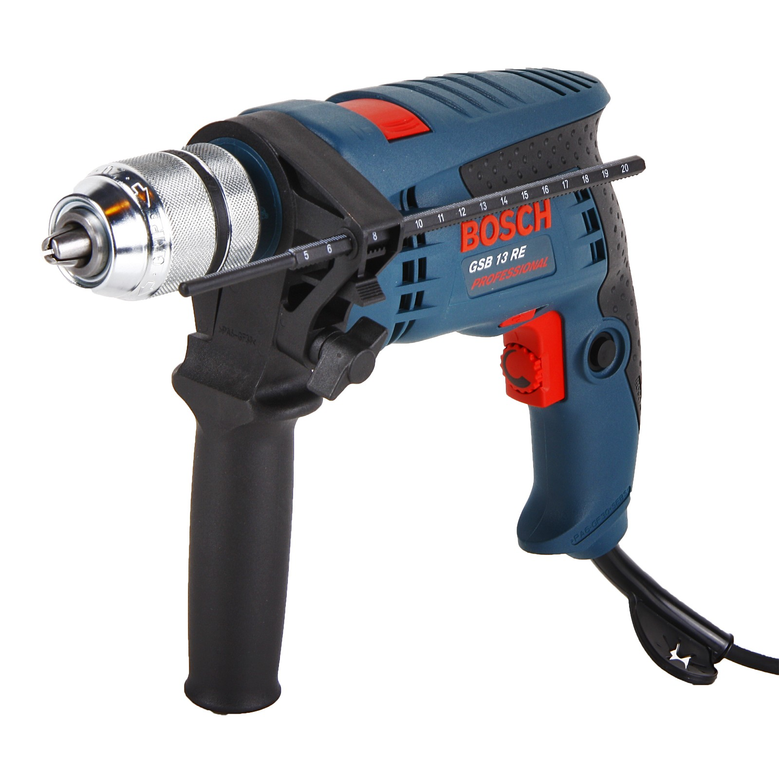 bosch gsb 13 re single speed 600w impact percussion drill in carton powertool world. Black Bedroom Furniture Sets. Home Design Ideas