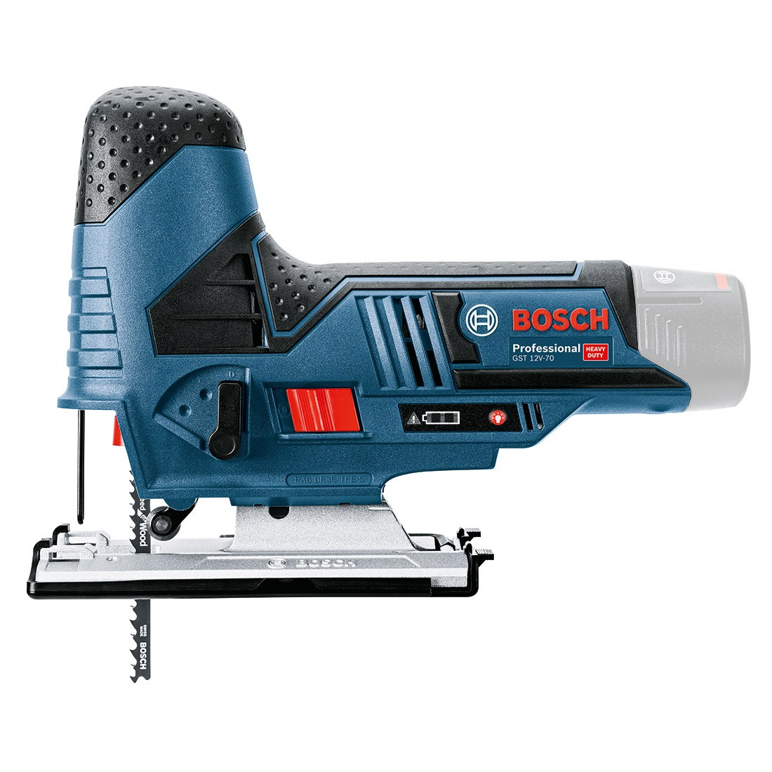 bosch gst 10 8 v li 12v 70 cordless jigsaw body only in carton powertool world. Black Bedroom Furniture Sets. Home Design Ideas