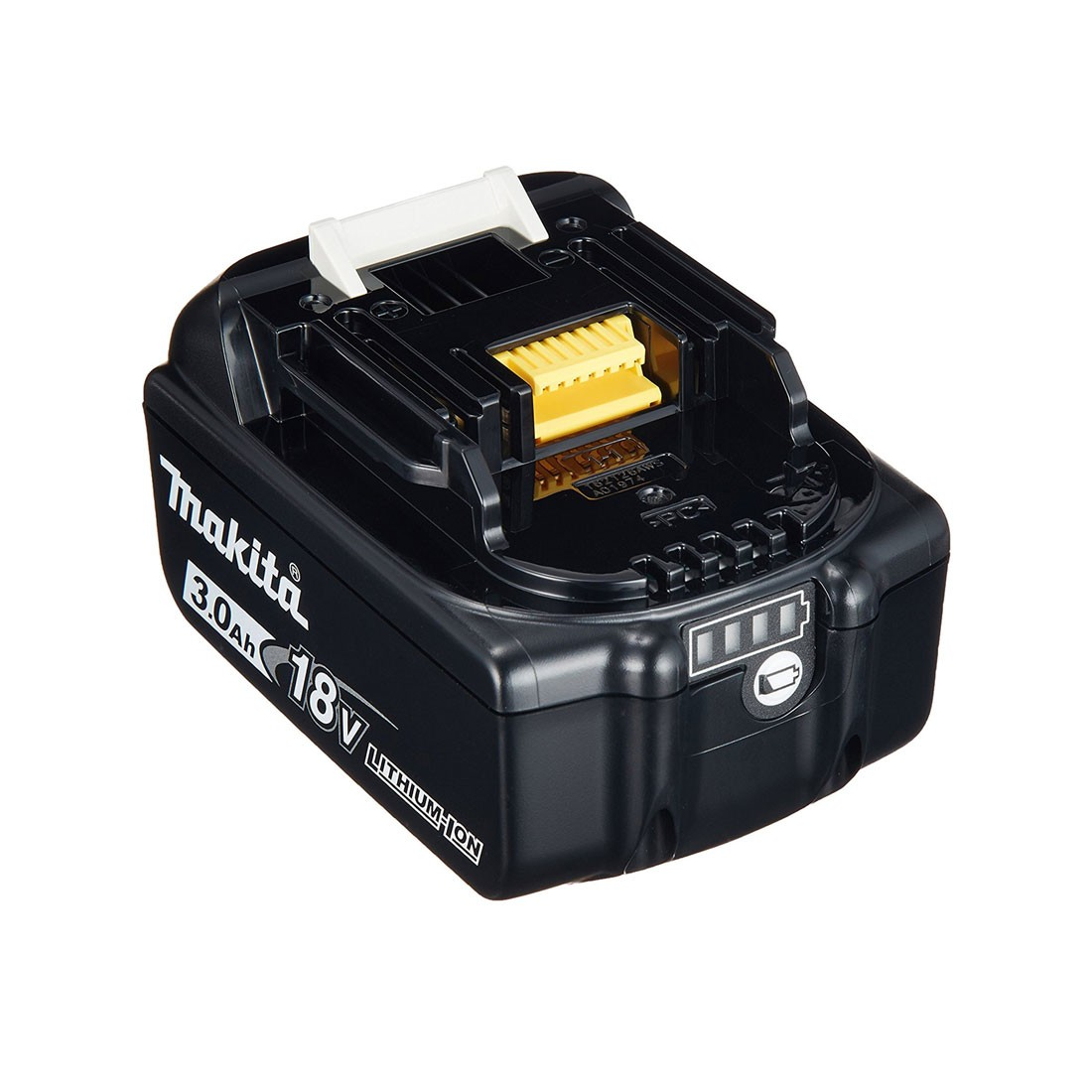 Makita bl1830b 18v lxt 3 0ah li ion battery powertool world - Batterie makita 18v ...