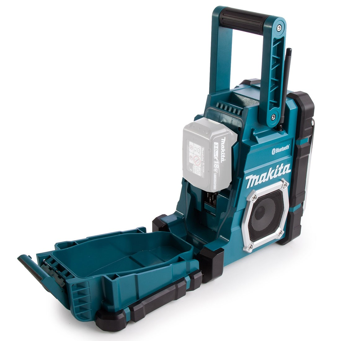 Makita dmr108 18v lxt cxt bluetooth job site radio - Radio makita dmr108 ...