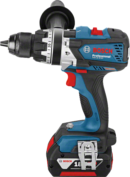 bosch gsb 18 ve ec rs brushless combi drill inc 2x 5 0ah batts in l boxx powertool world. Black Bedroom Furniture Sets. Home Design Ideas