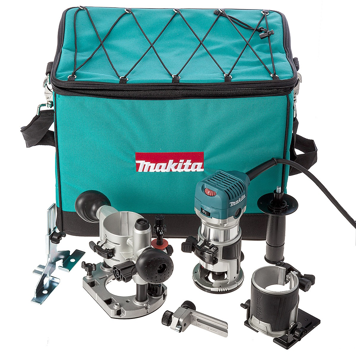 makita rt0700cx2 1 4 router trimmer with trimmer tilt and plunge bases powertool world. Black Bedroom Furniture Sets. Home Design Ideas