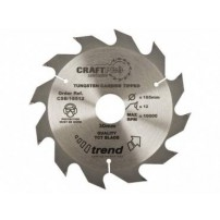 Trend CSB/16012 CraftPro Saw Blade 160mm x 12 Teeth x 20mm