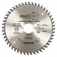 Trend CSB/16048 CraftPro Saw Blade 160mm x 48 th. x 20mm