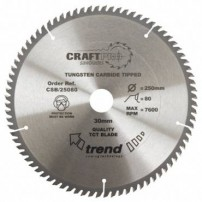 Trend CSB/30072 CraftPro Saw Blade 300mm x 72 th. x 30mm