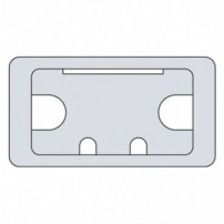 Trend CTI/105/PK1 Cable tidy insert grey