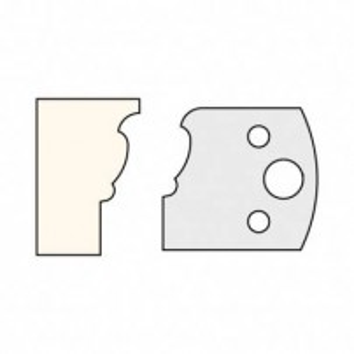 Trend IT/3310140 Knife 40mm x 4mm tool steel (pair)