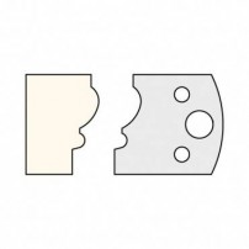 Trend IT/3310540 Knife 40mm x 4mm tool steel (pair)